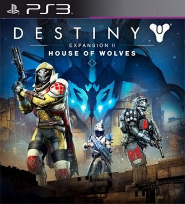 House of Wolves Expansion 2 DLC PSN Destiny - PS3
