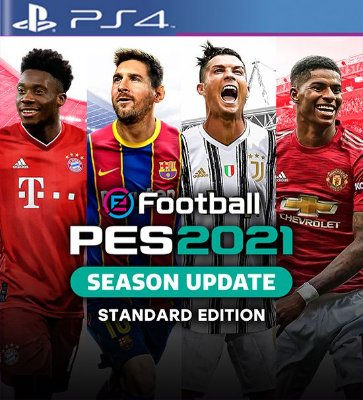 eFootball PES 2021 SEASON UPDATE OFICIAL - PS4 Mídia Digital