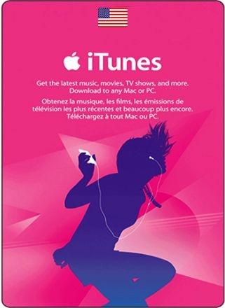 Itunes Gift Card US Dólares Cartão App Store