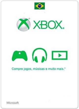 Card Xbox Microsoft Live Brasil R$ Cartão Windows
