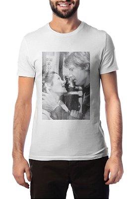 Camiseta Han & Leia