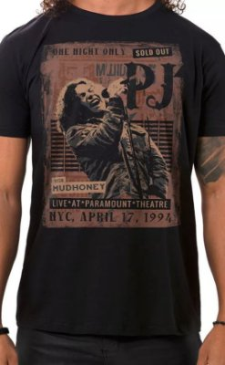 Camiseta Pearl Jam Sold Out