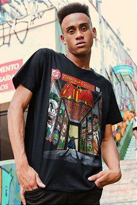Camiseta Masculina Batman Galeria de Vilões