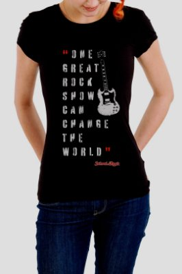 Camiseta Feminina School Of Rock