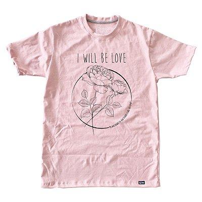 Camiseta Feminina Eu serei o amor ref 230