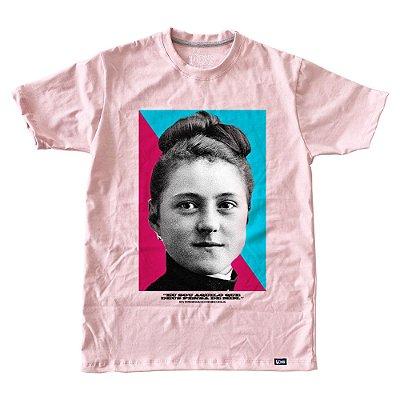 Camiseta Feminina Santa Teresinha do Menino Jesus ref 233