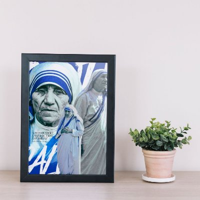 Quadro Santa Teresa de Calcutá