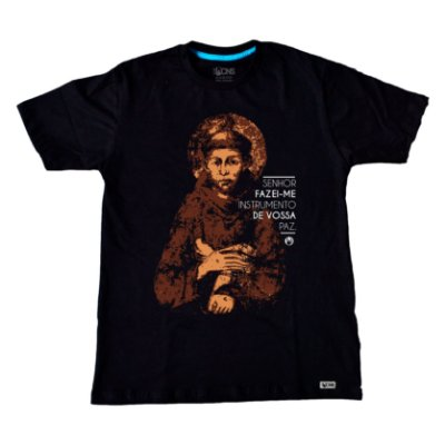 Camiseta Instrumento de vossa Paz