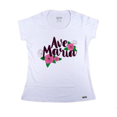 Baby Look Ave Maria Floral