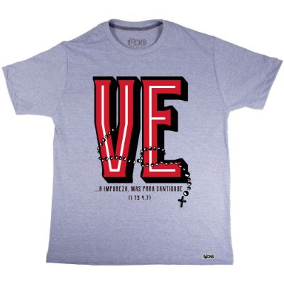 Camiseta Love Terço - VE