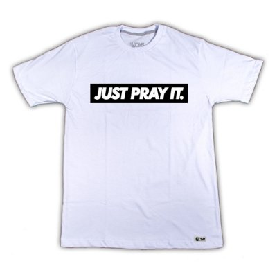 Camiseta Just Pray It ref 134