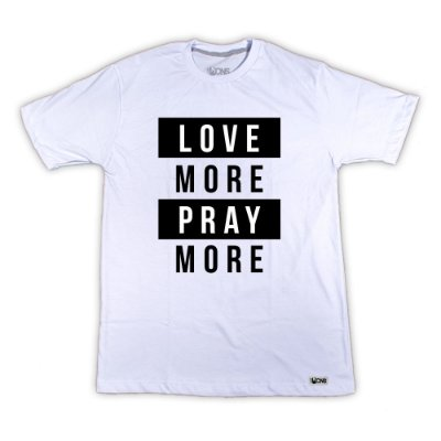 Camiseta Love More
