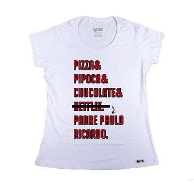 Baby Look Pizza Pipoca
