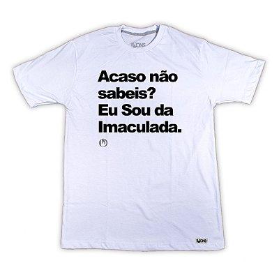 Camiseta Acaso não sabeis
