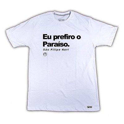Camiseta Eu prefiro o Paraíso