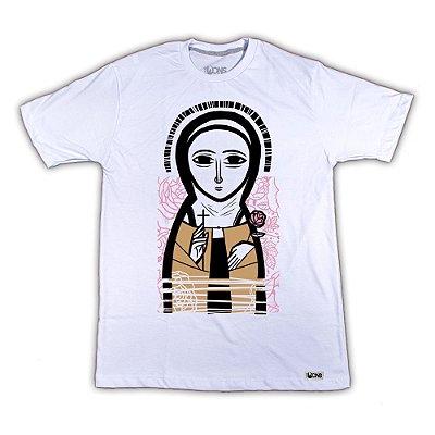 Camiseta Santa Teresinha - Ícone