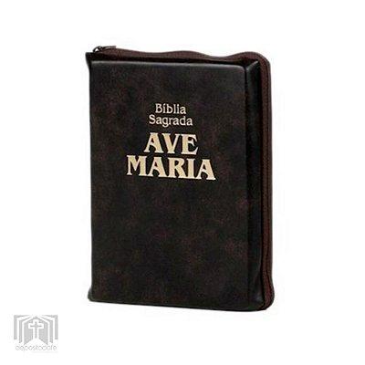 Livro - Bíblia Sagrada Ave Maria (Bolso Zíper)