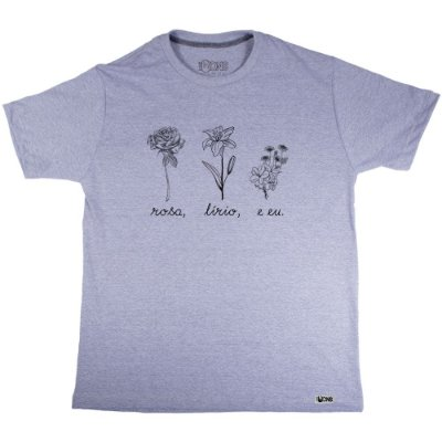 Camiseta Lírio - Nathalia Dutra ref 135