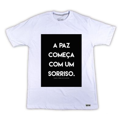 Camiseta Sorriso ref 162