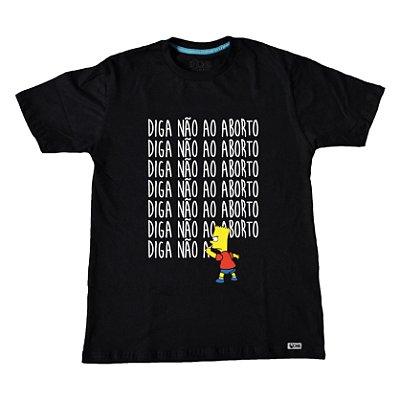 Camiseta Diga não ao Aborto ref 121