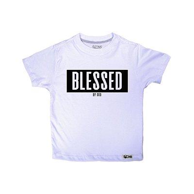 Camiseta Infantil Blessed