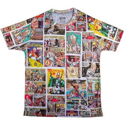 Camiseta Usedons Papa São João Paulo II (Colorido)