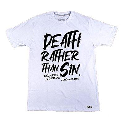 Camiseta UseDons Antes morrer do que pecar