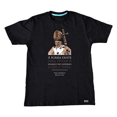 Camiseta UseDons Papa Emérito Bento XVI ref 182