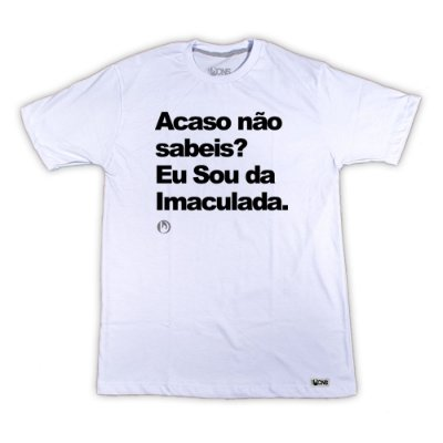 Camiseta Feminina UseDons Acaso não sabeis