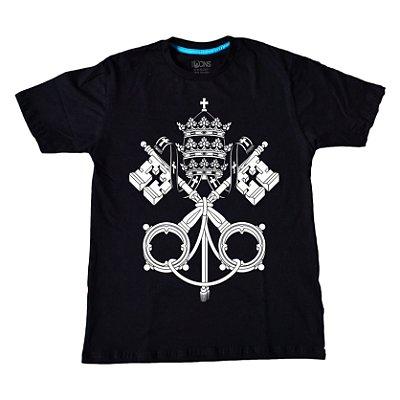 Camiseta Feminina UseDons Brasão Vaticano ref 111
