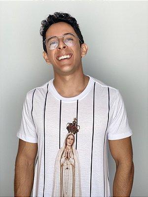Camiseta UseDons Nossa Senhora de Fátima Listrada
