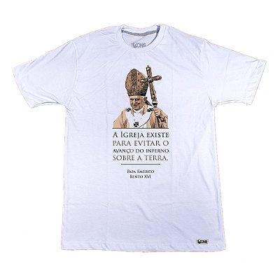 Camiseta Feminina UseDons Papa Emérito Bento XVI
