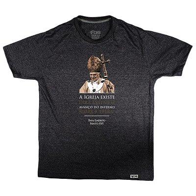 Camiseta Feminina UseDons Papa Emérito Bento XVI ref 182