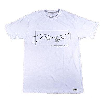 Camiseta Feminina UseDons God and Adam ref 179