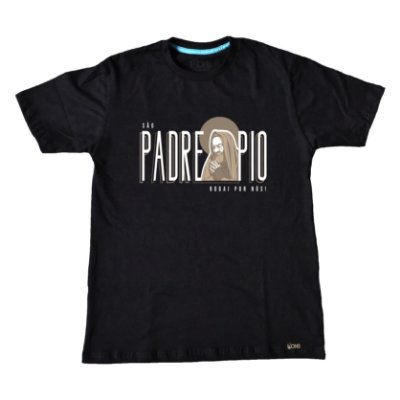 Camiseta ArtedoLuke - São Padre Pio ref 108
