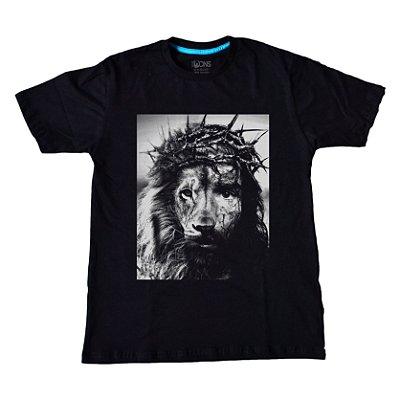 Camiseta Feminina Jesus é o Leão ref 132