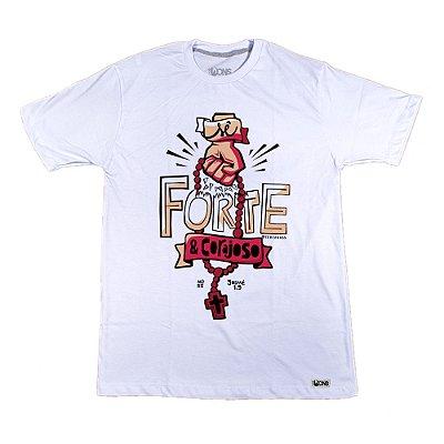 Camiseta NÓSS - FORTE E CORAJOSO ref 142