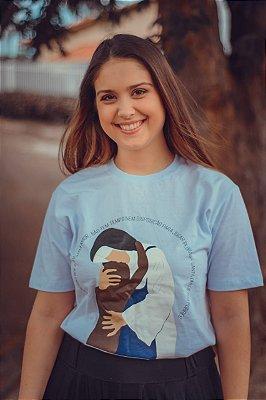 Camiseta Feminina UseDons Santa Dulce dos Pobres ref 186