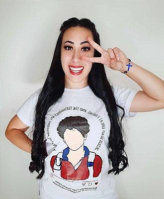 Camiseta Usedons Feminina Beato Carlo Acutis ref 170
