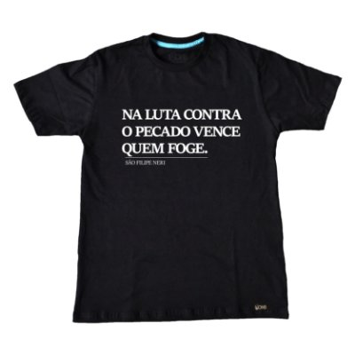 Camiseta Usedons Feminina Luta contra o Pecado ref 215