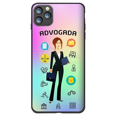 Capa Holográfica Personalizada - ADVOGADA