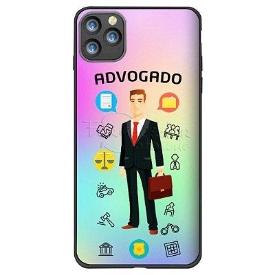 Capa Holográfica Personalizada - ADVOGADO