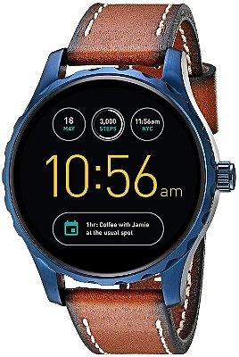 Relógio Smartwatch Fossil Q Marshal Masculino - Ftw2106/Omi