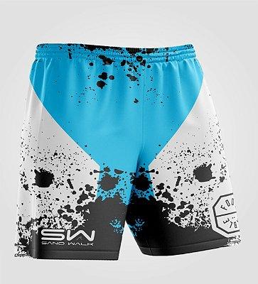Shorts Masculino | Modelo Treino | Foot Table Azul