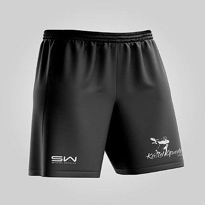 Shorts Masculino | Modelo Treino | Coleção Kath Guedes | Preto DETALHE