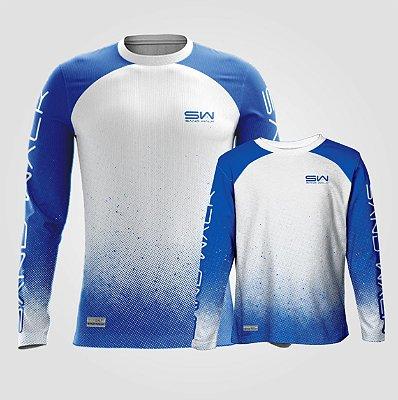 Camisa Manga Longa | Coleção Pai e Filho | Azul