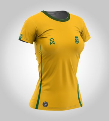 Camiseta Manga Curta | Feminina | SWFOOTBALL