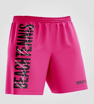 Bermuda Masculina   Beach Tennis   Colors   Pink