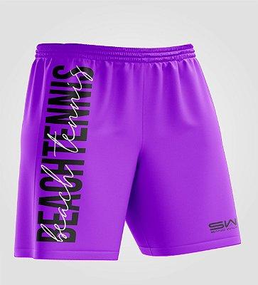 Bermuda Masculina | Beach Tennis | Colors | Purple
