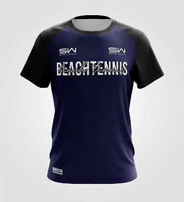 Camiseta Masculina | Beach Tennis | Colors | Marinho